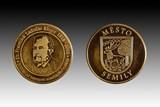Město Semily vydalo u příležitosti  výročí slavného rodáka pamětní minci