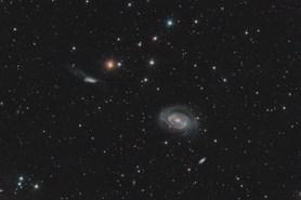 Titul Česká astrofotografie měsíce za červen 2018  obdržel snímek NGC 4725