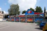 Graffiti v Bezručově ulici v Jihlavě je hotové