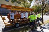 Pivní kola v centru Prahy se ocitla pod dohledem městské policie