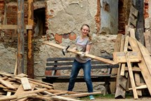 Hrad Hartenberg znovu hostí dobrovolníky z celého světa