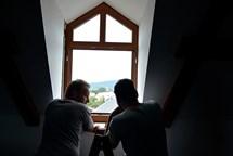 Začala výměna oken na radnici v Novém Boru