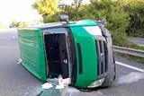 Nehoda na na dálnici D35