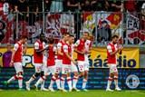 Slavia vyhrála v Olomouci o tři branky