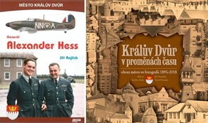 Nové knihy představují slavného rodáka a ukazují proměny Králova Dvora
