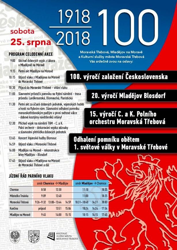 Akce 25. srpna 2018 - Moravská Třebová.