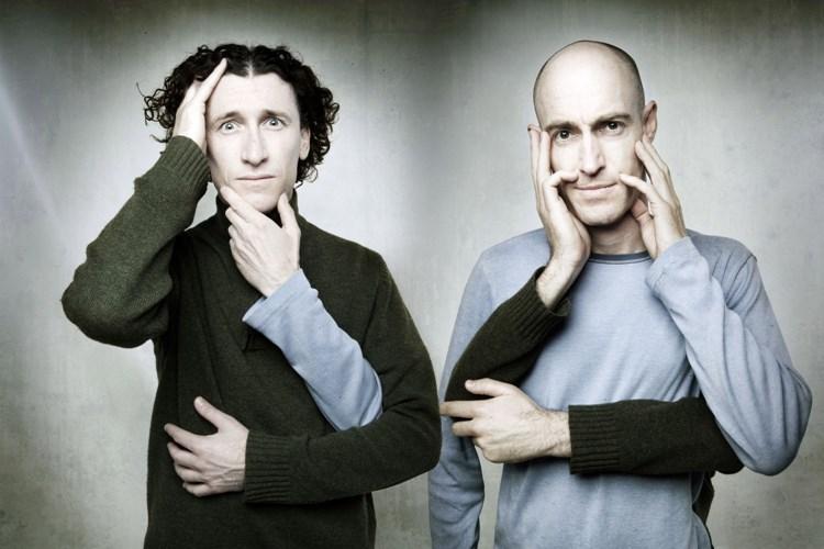 Fenomenální světoví komici The Umbilical Brothers vystoupí 14. října v trutnovském Uffu
