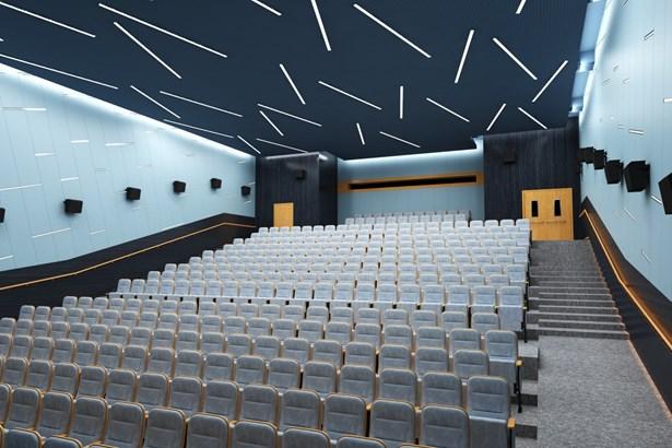 Popis: Vizualizace nové podoby kina.