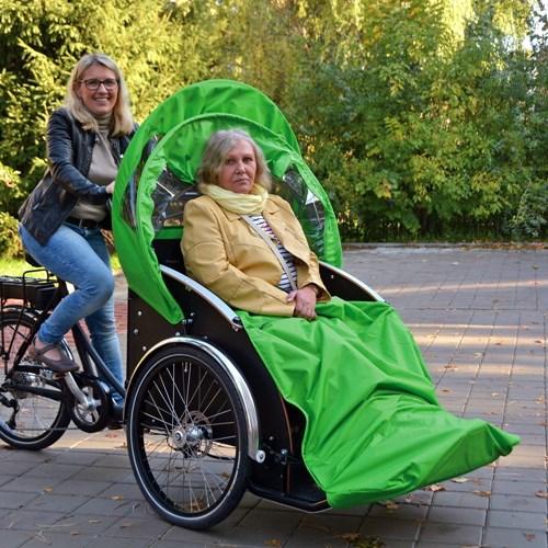 Seniory v Bohumíně bude na výlety po okolí vozit cyklorikša