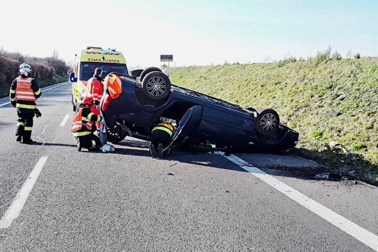 Při nehodě na Břeclavsku se zranil řidič