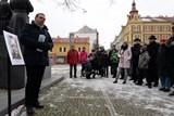 Plzeň uctila památku Josefa Hlavatého, jenž v Plzni následoval Jana Palacha