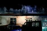 Noční požár dílny autoservisu v Břeclavi