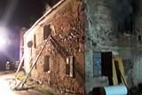 Čeští a polští hasiči společně likvidovali první den v roce požár v Javorníku