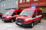 Anička a Evička, dvě speciálně vybavená auta, pomohou dobrovolným hasičům