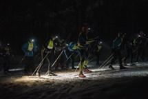 Noční Jizerky zažili rekordní návštěvu i dokonalou měsíční atmosféru
