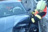 Při nehodě pěti vozidel u Starých Hamrů byl zraněn jeden člověk