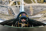 Martin Šonka úřadující mistr světa Red Bull Air Race vystoupí na Aviatické pouti