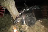 Noční tragická dopravní nehoda mezi Kravařemi a Štěpánkovicemi