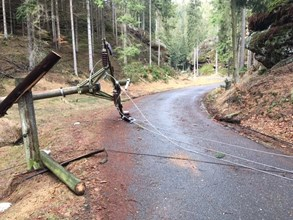 Orkán Eberhard – 2400 poruch, 356 tisíc odběrných míst bez elektřiny, škody za 30 milionů korun