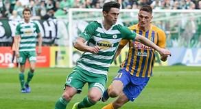 Utkání mezi Bohemians a Opavou gól nepřinesl