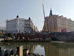 Nový postup prací v Olomouci bude šetrnější k okolní zástavbě