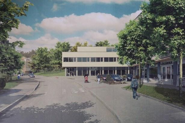 Popis: Vizualizace nového rehabilitačního centra.