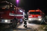 V Lipové-lázni vyhořela střecha ubytovací chaty