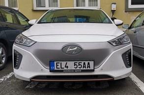 Valašskomeziříčský elektromobil má speciální SPZ
