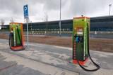 Na mošnovském letišti mají dobíječku elektromobilů