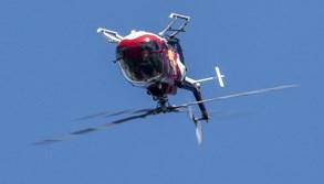 Jedinečná akrobacie vrtulníku na Aviatické pouti 2019