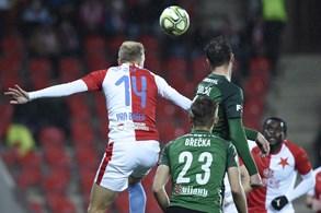 Slavia obrátila zápas proti Jablonci