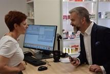 Nemocniční lékárna v Pelhřimově má další výdejní místo
