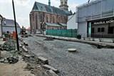 Práce na rekonstrukci ulic Na Rejdišti a Na Příkopě pokračují