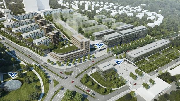 Popis: Projekt metra I.D a okolní výstavba v lokalitě Praha - Krč.