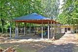 V hasičské zahradě v Bohumíně vyrostl nový prostorný altán, garážovat v něm bude tatra V3S