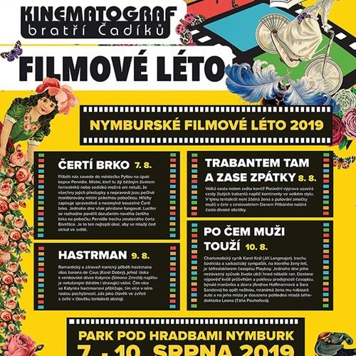Nymburské filmové léto 2019