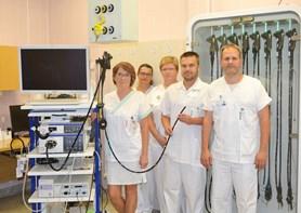 Nové přístroje na gastroenterologickém oddělení Nemocnice Prostějov zajistí ještě rychlejší a komfortnější průběh vyšetření