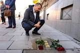 Plzeň uctila památku obětí holocaustu položením kamenů zmizelých