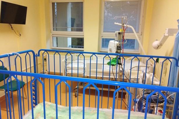 Popis: Nemocnice Třinec připravila pokoje i pro dětské pacienty.