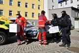 Policie ČR předala 500 respirátorů FFP3 libereckým záchranářům