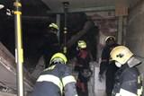 Náročný zásah hasičů u destrukce objektu Adolfovice, Jesenicko