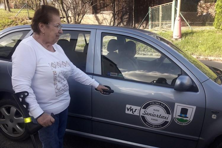 Ve Valašských Kloboukách znovu jezdí Seniortaxi
