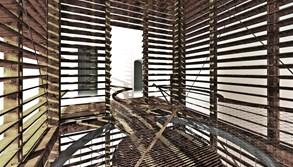 Nadace prodává schody do jedné z nejšikmějších věží v Evropě