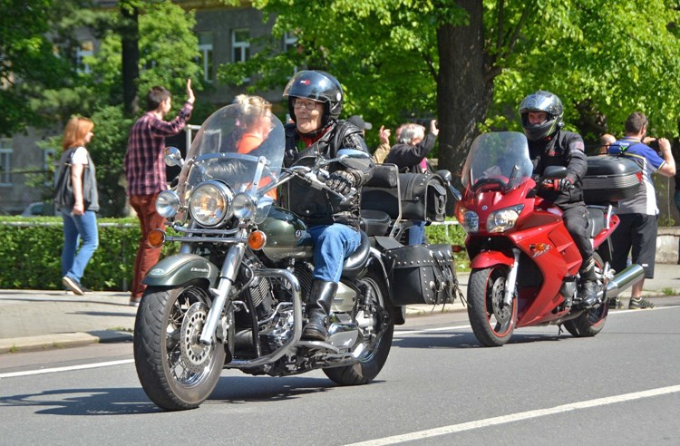Bohumínem projedou v sobotu motorkáři
