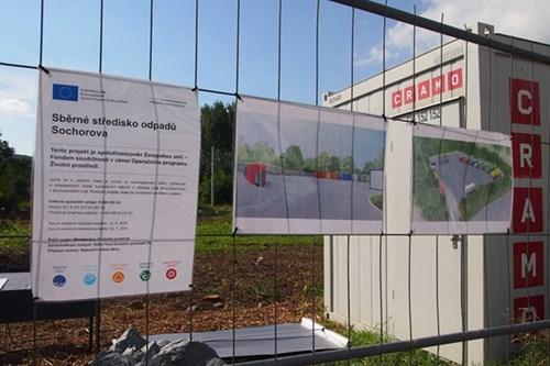 V Žabovřeskách vyroste nové sběrné středisko odpadu