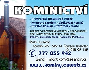 Kominictv� Petr Lu��k