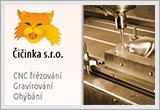 CNC frézování, gravírování a ohýbání - Beroun