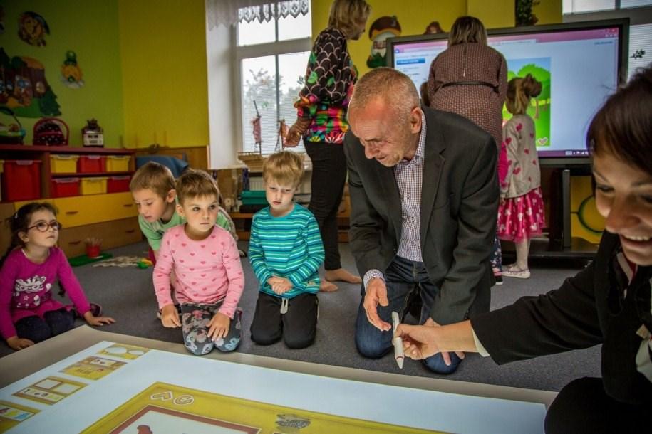 Popis: Olomoucká Mateřská škola Rooseveltova se zapojila do projektu školka hrou.