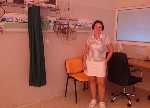 Popis: Děti v Nemocnici Havlíčkův Brod jsou po operaci umístěny na speciální pokoj.