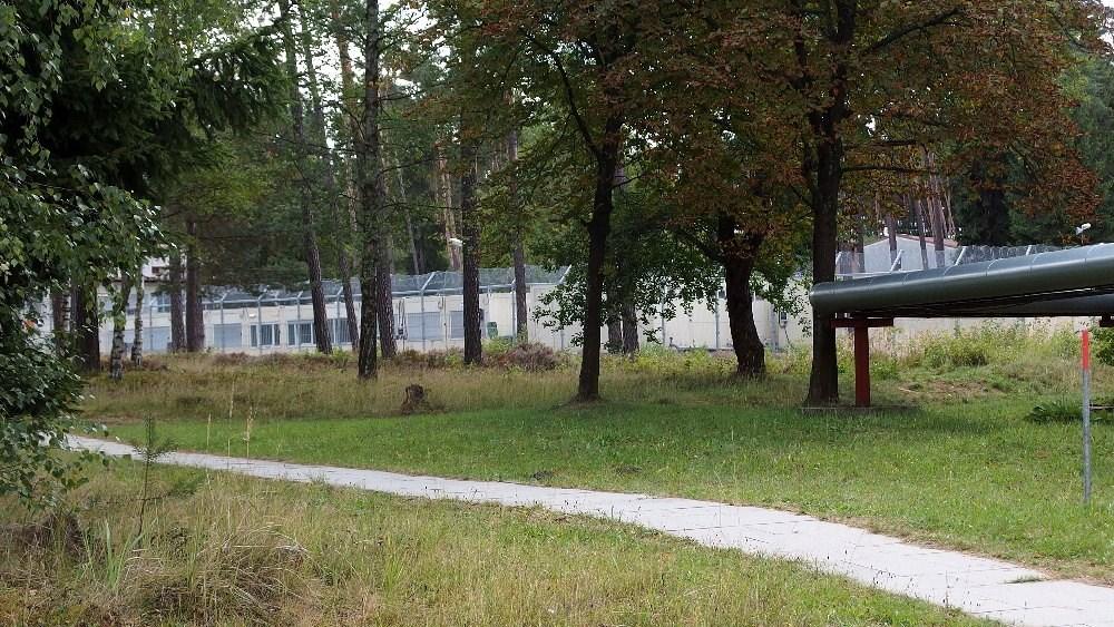 Uprchlický tábor v Jezové.